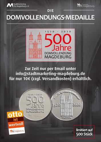 Neue Medaille für das Dom-Jubiläum