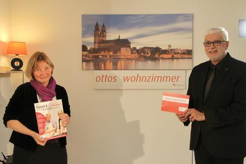 Dr. Edda Weise, die erste Frau an der Spitze der Pfeifferschen Stiftungen zu Gast in